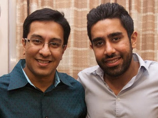 Two Brothers, Aqil Chinoy and Bilal Chinoy, Founders of Inspiralive